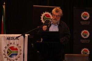 Professor Jose Palma gave the keynote address at the Summit